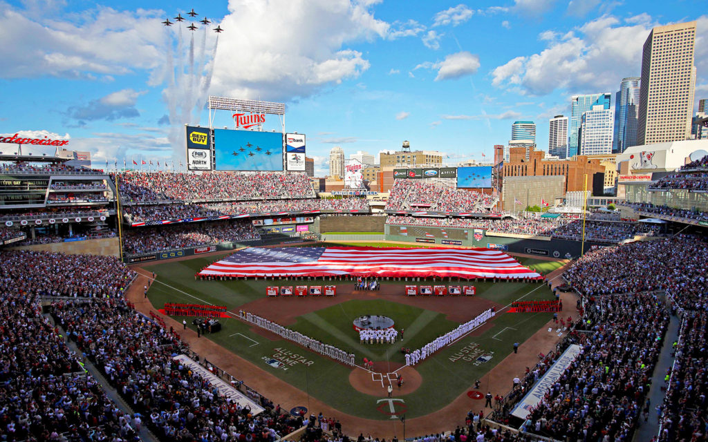 2014 MLB All-Star Game at Target Field Minneapolis, Minnesota