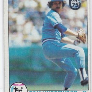 1979 Topps Buyback Tom Underwood
