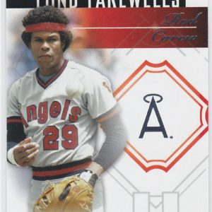 2014 Topps Update Font Farewells Rod Carew