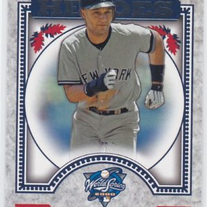 2014 Topps Update World Series Heroes Derek Jeter