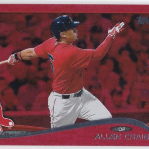 2014 Topps Update Red Sparkle Allen Craig
