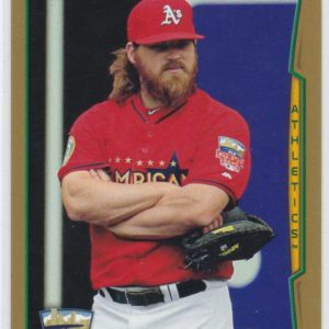 2014 Topps Update Gold Derek Norris All-Star