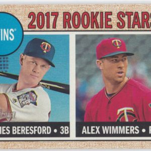 2017 Topps Heritage Rookie Stars James Beresford / Alex Wimmers