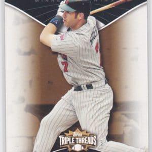 2009 Topps Triple Threads Sepia /525 Joe Mauer