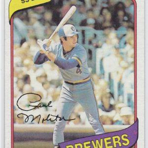 1980 Topps Paul Molitor